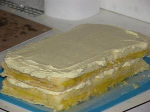 Assembled cake