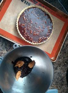 Making the ganache