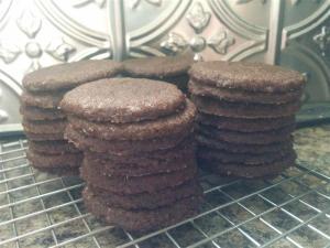 Stacks o' cookies.