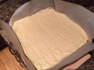 Buttercream layer