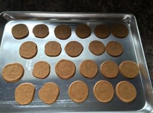 Baked Pepparkakors