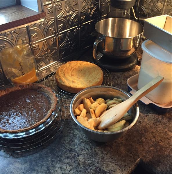 Pumpkin Pecan Pie? Or Spritz ButterCookies?