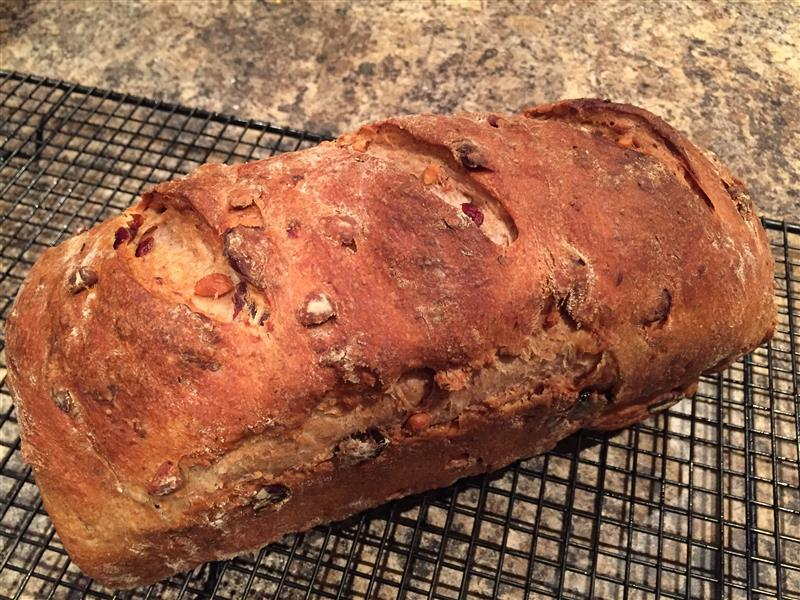 Cranberry Christmas Bread