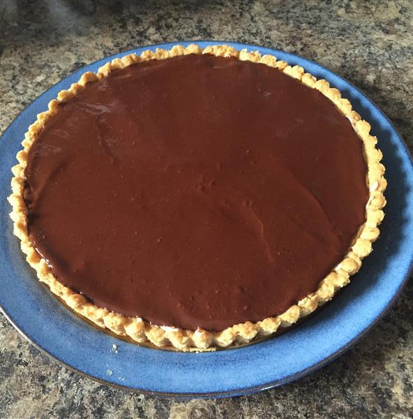 Chocolate Hazelnut MousseTart
