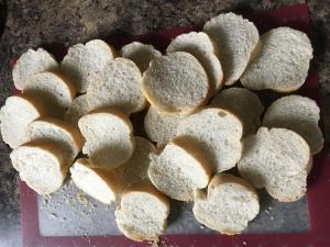 Staling the bread
