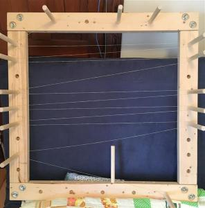 My warping board