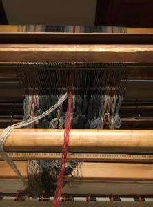 Heddles all threaded